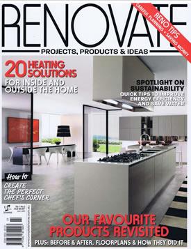 Renovate Magazine: Bringing a Terrace Back to Life